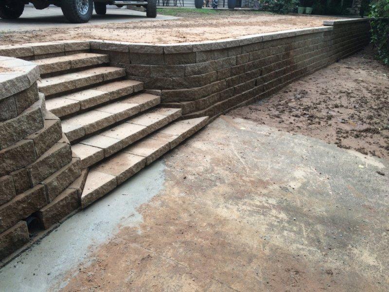 Retaining Walls Tulsa Retaining Walls Stone Wall