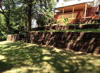 Stone Walls Vs. Railroad Tie Walls