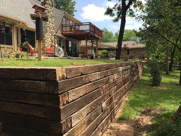 Tulsa Retaining Walls | Outdoor Living | Edgington Construction
